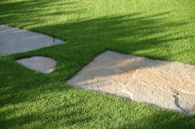 Servizio di posa in opera pratosubito produzione di prato in zolle a rotoli a milano - Pietre camminamento giardino ...